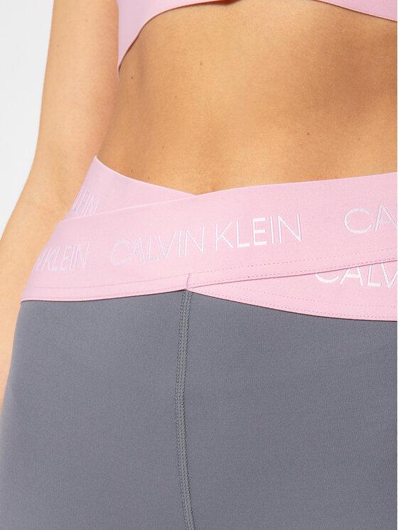 Calvin Klein Performance Calvin Klein Performance Legginsy 7/8 Tight 00GWS0L608 Szary Slim Fit