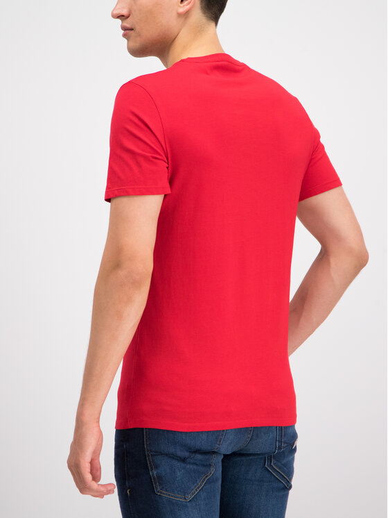 Guess Guess T-Shirt M93I60 I3Z00 Rot Slim Fit