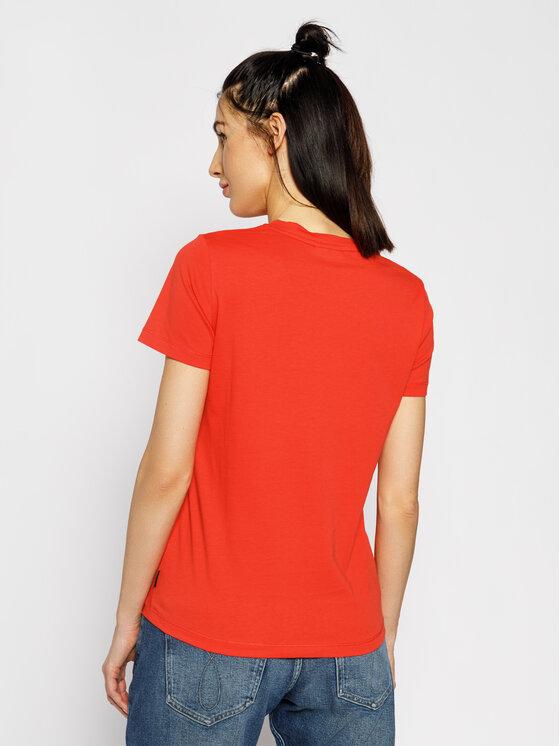 Calvin Klein Calvin Klein T-shirt Print Fill Logo K20K201861 Arancione Regular Fit