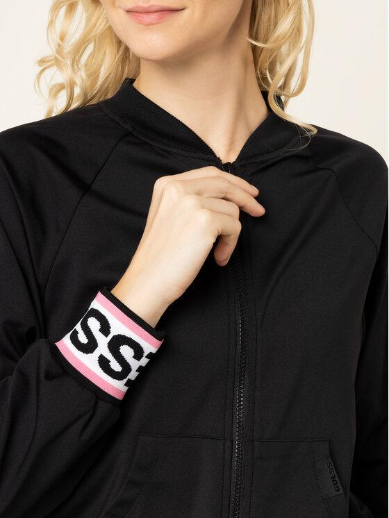 Guess Guess Μπλούζα Karin W01Q85 RJQ30 Μαύρο Slim Fit