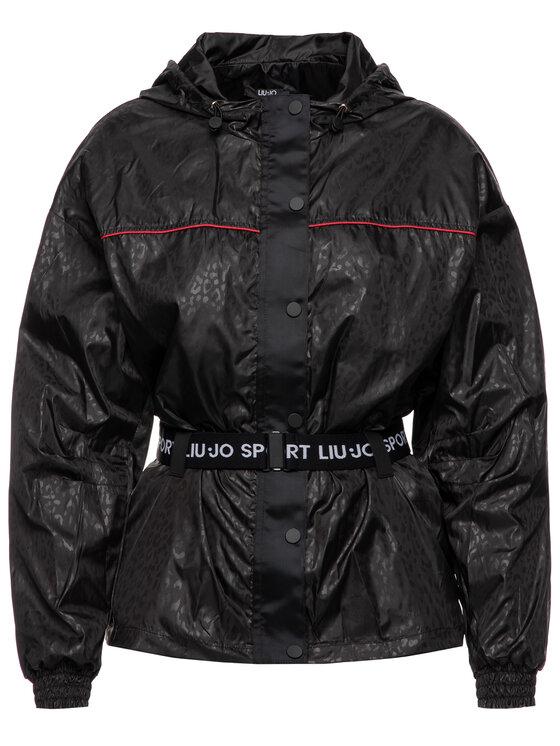 Liu Jo Sport Liu Jo Sport Veste de mi-saison Giubbotto TS. Navetta T69178 T5751 Noir Regular Fit