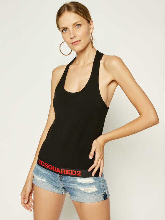 Dsquared2 Underwear Dsquared2 Underwear Felső D8D452270 Fekete