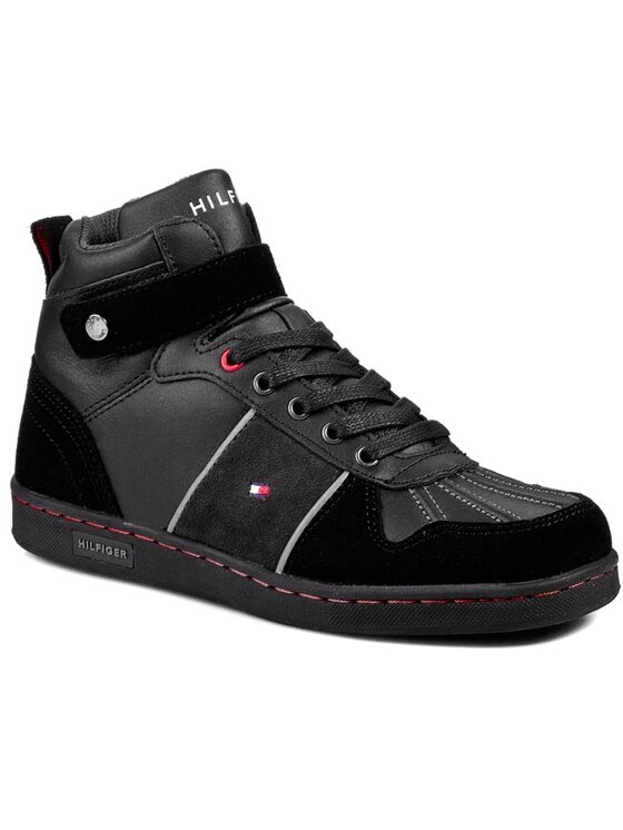 Tommy Hilfiger Tommy Hilfiger Pantofi Cooper 18C FB56817974 Negru