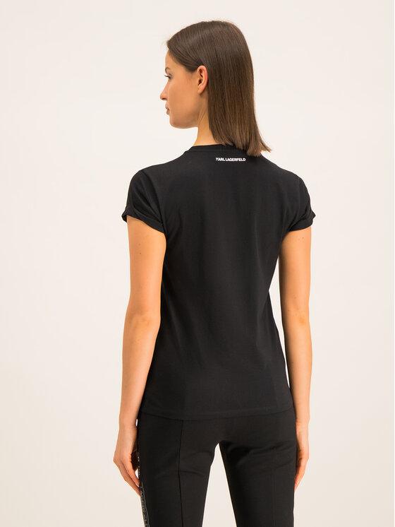 KARL LAGERFELD KARL LAGERFELD T-Shirt 96KW1718 Μαύρο Regular Fit