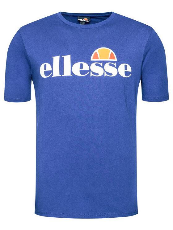 Ellesse Ellesse T-Shirt Sl Prado Tee SHG07405 Niebieski Regular Fit