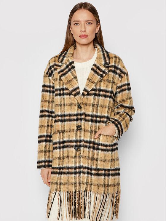 Pinko Demisezoninis paltas Parkside 1G16K3 Y7AY Ruda Regular Fit