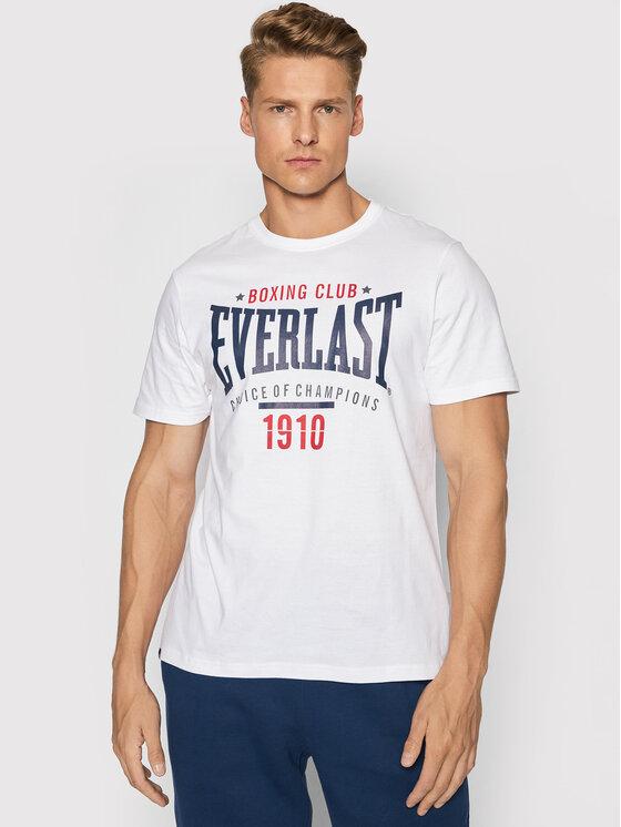 Everlast Marškinėliai 2012793-01 Balta Regular Fit