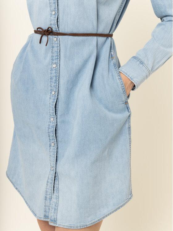 Levi's® Levi's® Дънкова рокля Ultimate Western 59484-0008 Син Regular Fit
