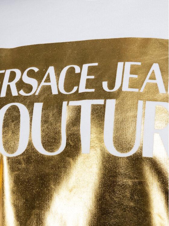 Versace Jeans Couture Versace Jeans Couture Bluză B7GVA7TK Alb Regular Fit