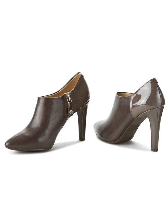 Geox Geox Κλειστά παπούτσια D Caroline A D64W1A 08566 C6004 Καφέ