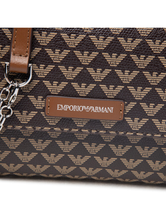 Emporio Armani Emporio Armani Torebka Y3H186 YFH1E 85217 Brązowy