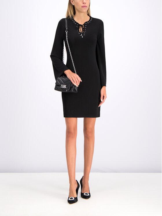MICHAEL Michael Kors MICHAEL Michael Kors Každodenné šaty MU98YZ47AW Čierna Regular Fit
