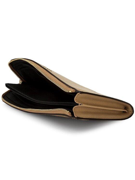 DKNY DKNY Nagy női pénztárca Wristlet Wallet R2235051 Barna