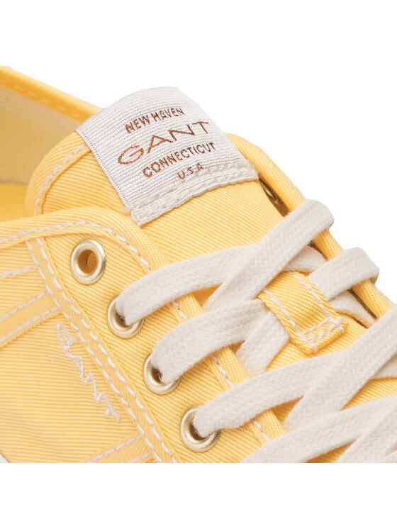 Gant Gant Tenisówki Zoee 18538442 Żółty