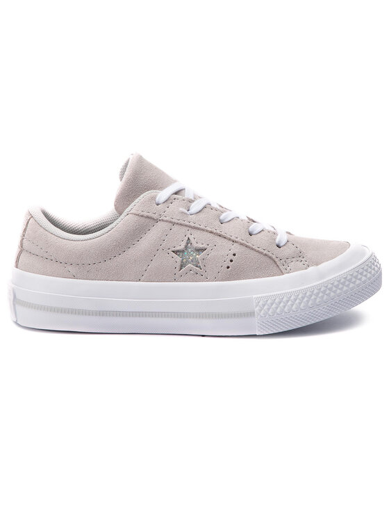Converse Converse Tenisówki One Star Ox 663589C Szary