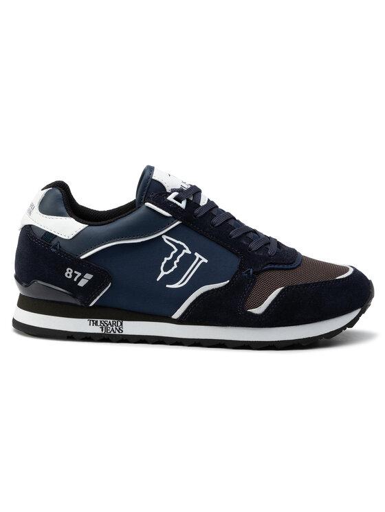 Trussardi Jeans Trussardi Jeans Laisvalaikio batai 77A00188 Tamsiai mėlyna