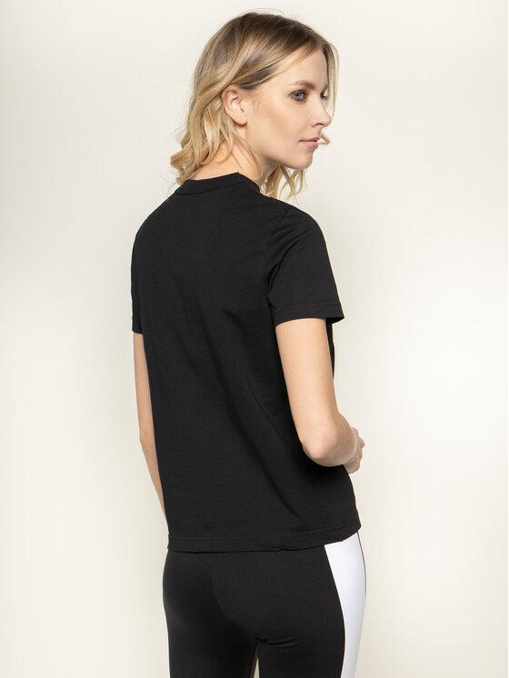 Versace Jeans Couture Versace Jeans Couture Тишърт B2HVA7X0 Черен Regular Fit