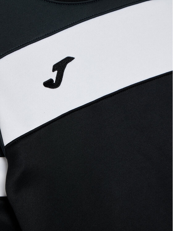 Joma Joma Bluza Crew IV 101575.110 Czarny Regular Fit