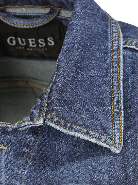 Guess Guess Giacca di jeans M92N14 D3HU1 Blu scuro Regular Fit