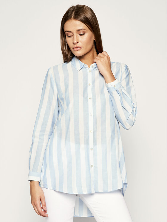 iBlues Marškiniai Gedda 71910592 Mėlyna Regular Fit