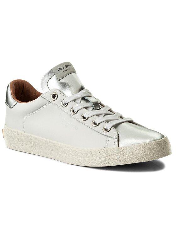 Pepe Jeans Pepe Jeans Αθλητικά Portobello W PLS30695 Λευκό