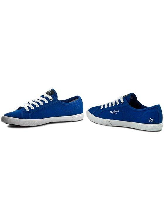 Pepe Jeans Pepe Jeans Teniși Aberman Basic PMS30207 Albastru