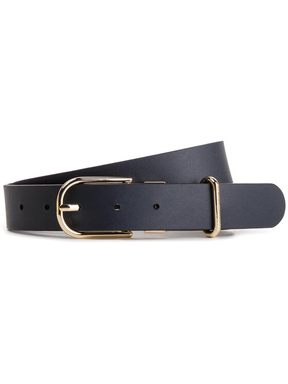 Tommy Hilfiger Tommy Hilfiger Cintura da donna New Fancy Reversible Belt 3.0 AW0AW06554 Nero