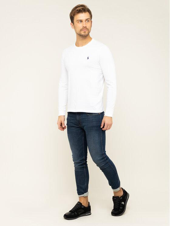 Polo Ralph Lauren Polo Ralph Lauren Longsleeve Classics 710671468004 Λευκό Custom Slim Fit