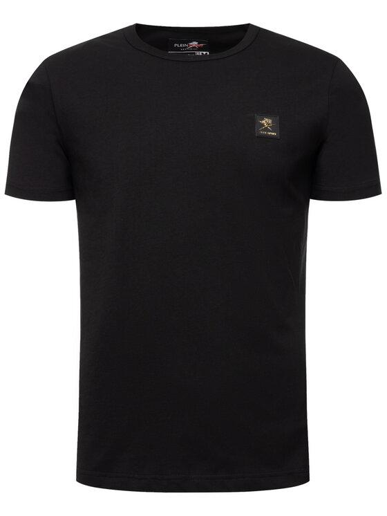 Plein Sport Plein Sport T-Shirt A19C MTK4169 SJY001N Czarny Regular Fit