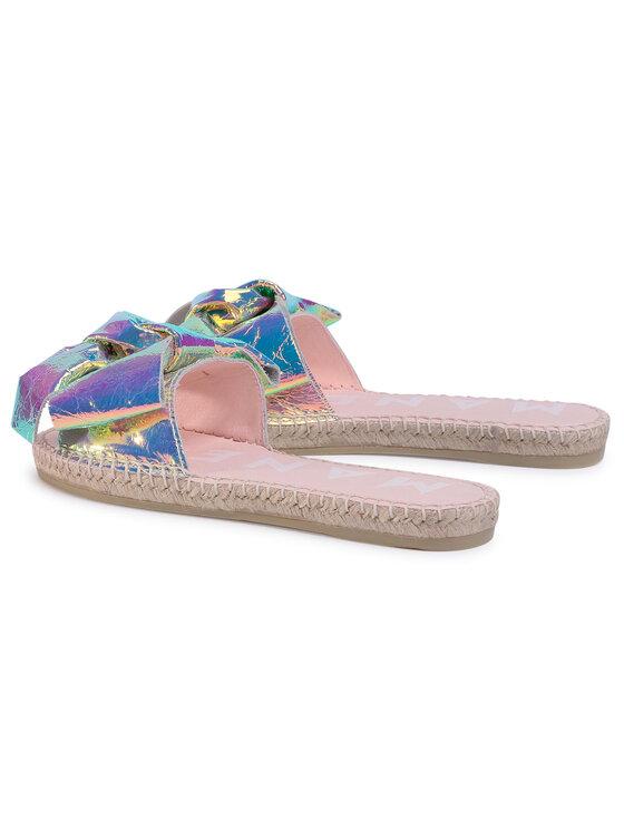Manebi Manebi Espadryle Sandals With Bow F 8.9 J0 Kolorowy