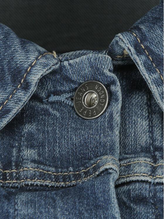 Pepe Jeans Pepe Jeans Kurtka jeansowa PL400755CF7 Granatowy Slim Fit