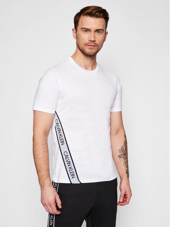 Calvin Klein Performance Marškinėliai 00GMS1K263 Balta Regular Fit