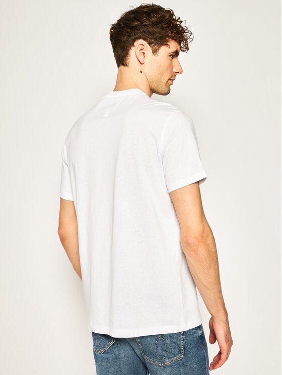 Armani Exchange Armani Exchange T-Shirt 8NZTPA ZJH4Z 7141 Bílá Regular Fit