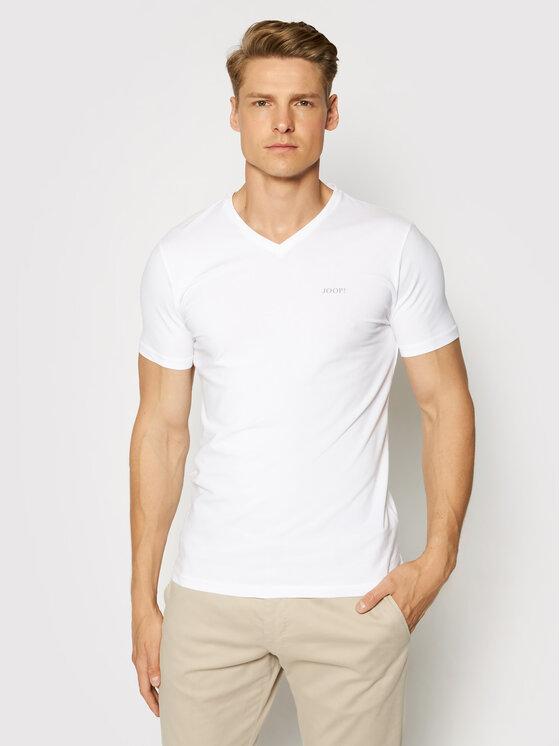Joop! Joop! Lot de 2 t-shirts 30018460 Blanc Regular Fit