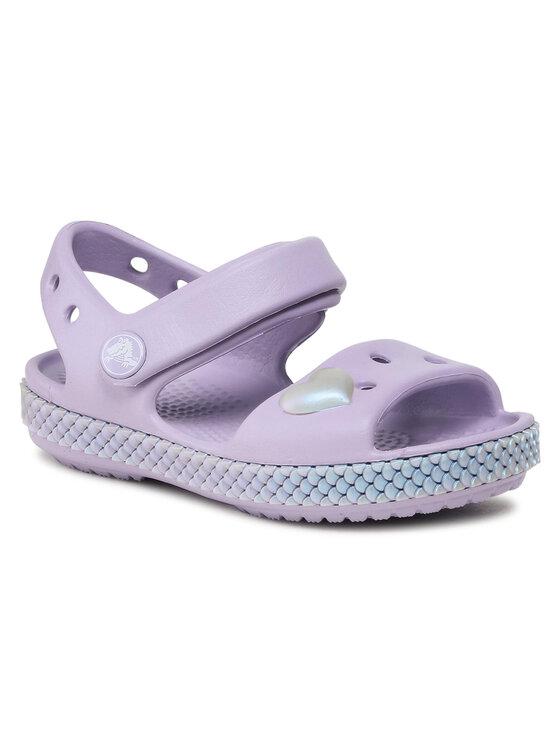 Crocs Basutės Crocband Imagination Sandal Ps 206145 Violetinė