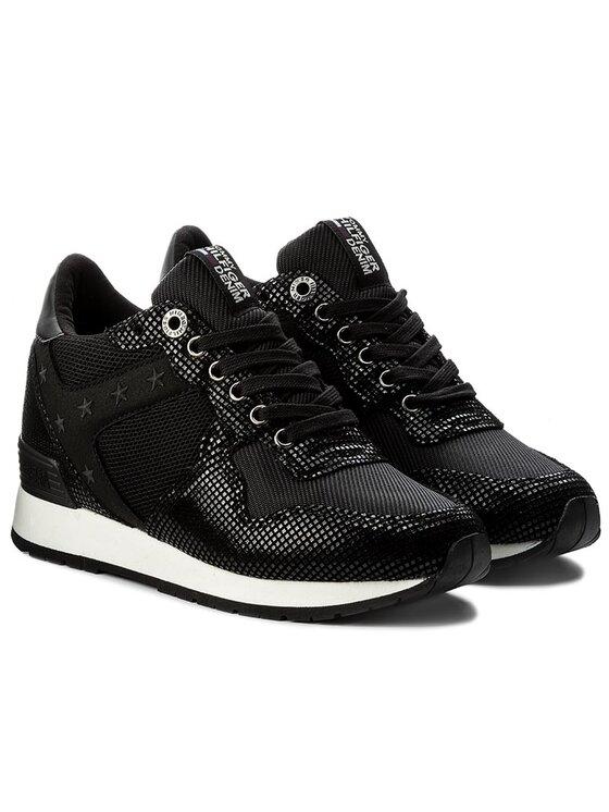 Tommy Hilfiger Tommy Hilfiger Sneakers DENIM Lady 4Z2 FW0FW01879 Negru