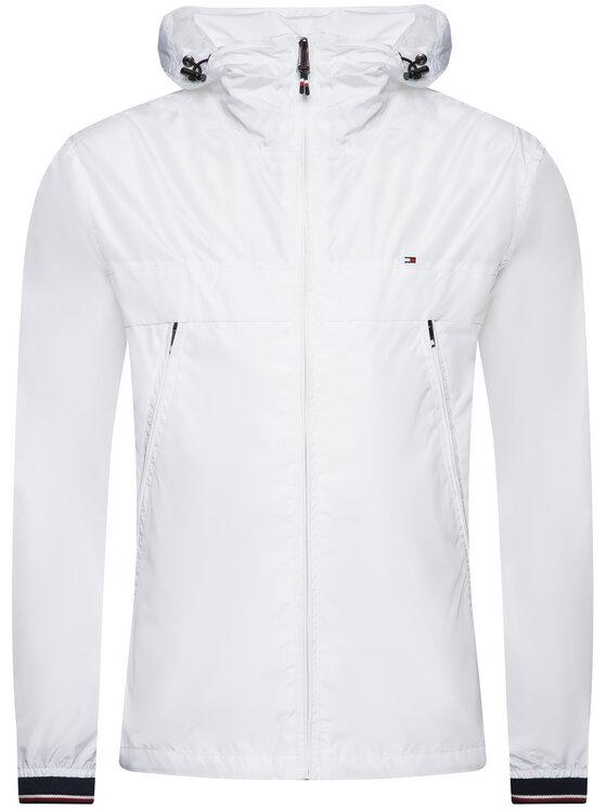 Tommy Hilfiger Tommy Hilfiger Átmeneti kabát Light Weight Hooded MW0MW12216 Fehér Regular Fit