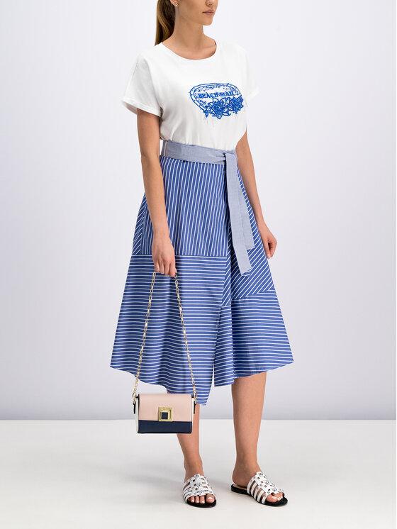 Marella Marella Trapecijos formos sijonas 31010495 Mėlyna Regular Fit
