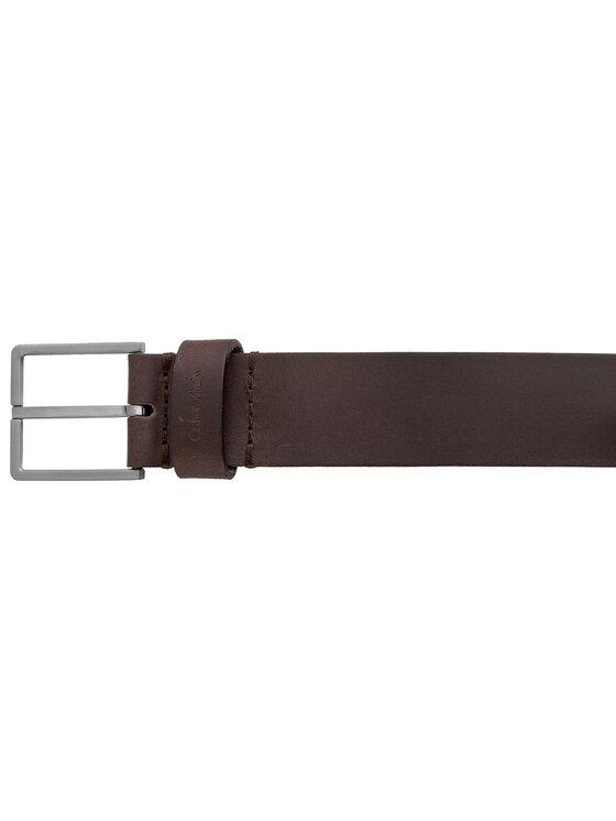 Calvin Klein Calvin Klein Ζώνη Ανδρική Essential Belt 3.5 K50K503421 85 Καφέ