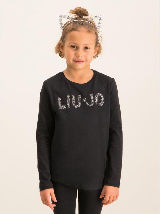 Liu Jo Kids Liu Jo Kids Blúz G69010 J0088 Fekete Regular Fit