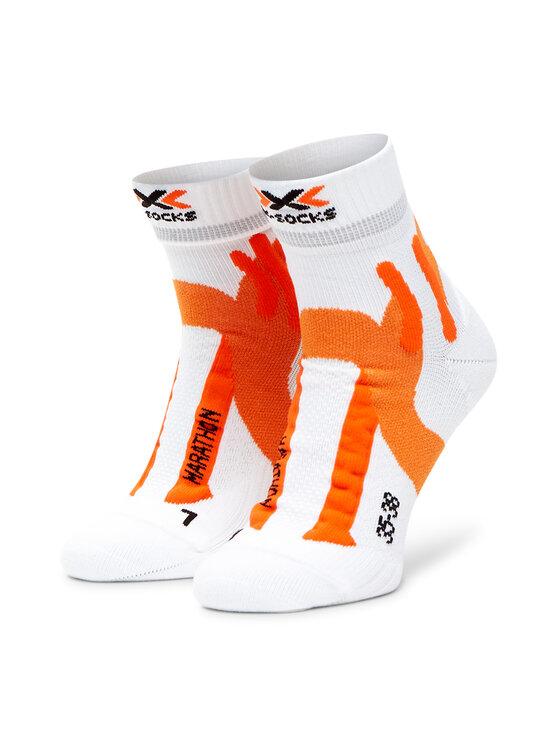X-Socks Ilgos Vyriškos Kojinės Marathon XSRS11S19U Balta