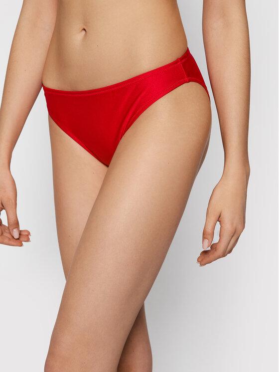 Champion Bikinio apačia High Leg 113029 Raudona