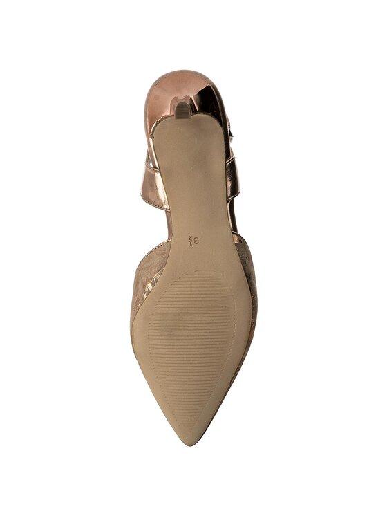 Caprice Caprice Sandály 9-29609-20 Zlatá