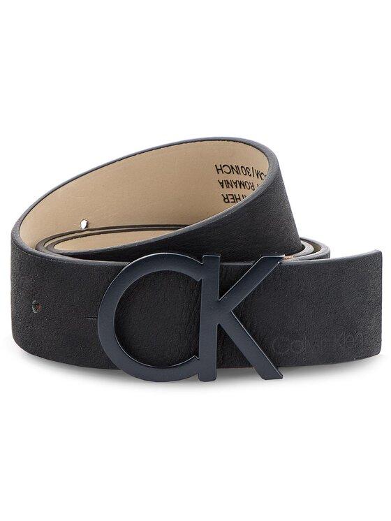 Calvin Klein Calvin Klein Dámsky opasok 3.5Cm Ck Buckle Belt K60K604749 75 Čierna