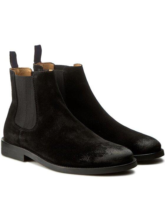 Gant Gant Μποτάκια με λάστιχο Max 13653354 Μαύρο