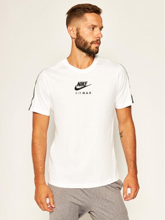 Nike Nike T-Shirt Air Max CT9744 Biały Standard Fit