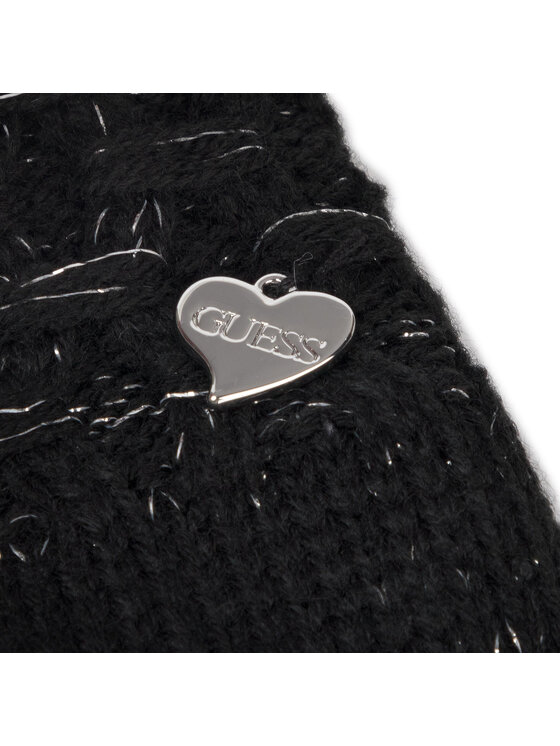 Guess Guess Γάντια Γυναικεία Not Coordinated Gloves AW8199 WOL02 Μαύρο