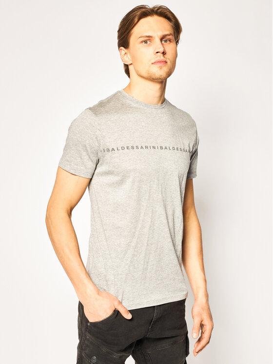Baldessarini Marškinėliai Theo 47398/000/5357 Pilka Modern Fit