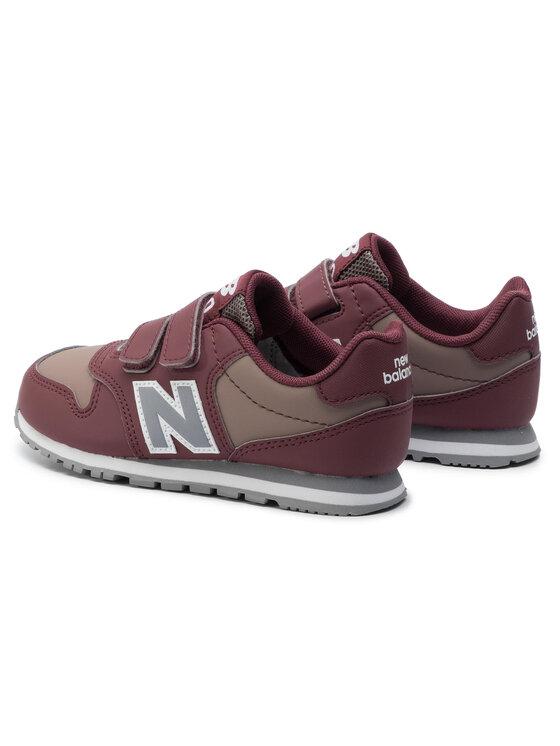 New Balance New Balance Sneakersy YV500EC Bordowy