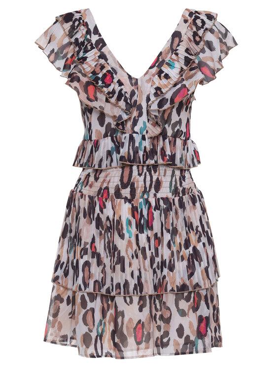 Liu Jo Liu Jo Φόρεμα καλοκαιρινό FA0033 T5975 Μπεζ Regular Fit